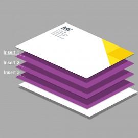 Carte de correspondance Ultra Luxe - Imprimerie My Yellow