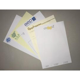 Tête de lettre /Papier à en-tête - Imprimerie My Yellow